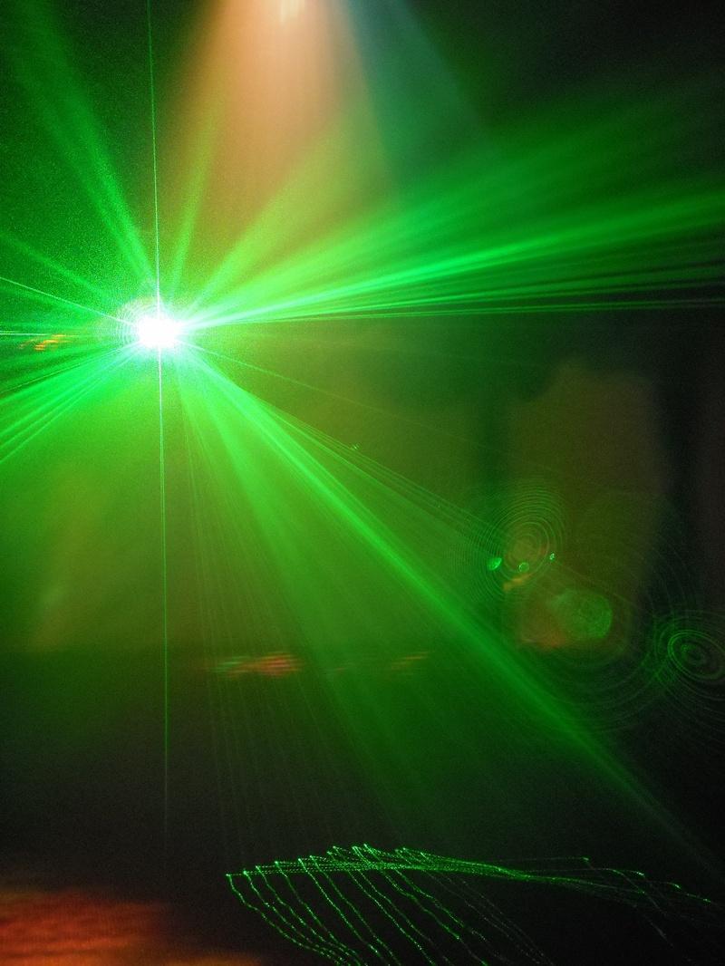 Green Laser in 6x9m